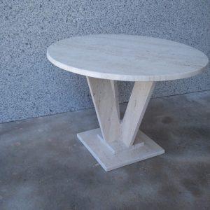 Productos m rmoles cucharero - Mesa marmol travertino ...