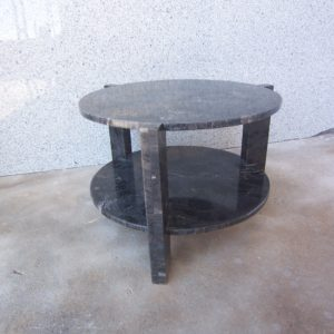 Mesa mármol Negro Marquina