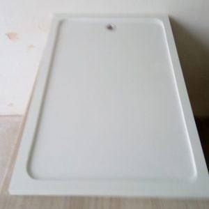Plato ducha blanco